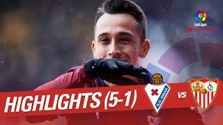 Resumen de SD Eibar vs Sevilla FC 5-1