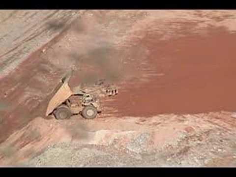 Mine In Morenci, Arizona