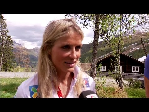 Interview with Therese Johaug and Egil Kristiansen in Hemsedal
