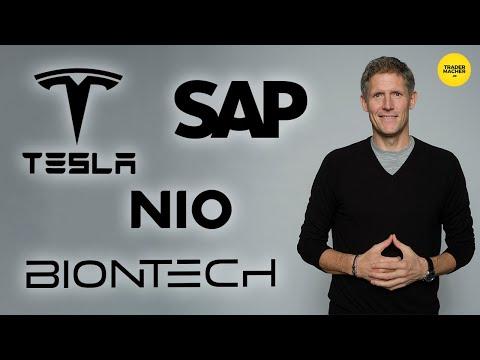 Tesla - SAP  - BioNTech - NIO