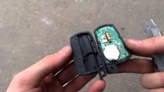 Замена корпуса смарт ключа smart key BMW E90 E83 E70 E71