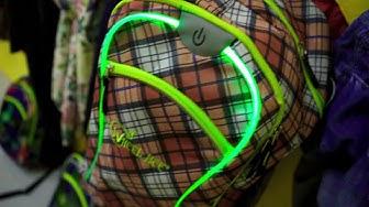 WHEEL BEE - INNOVATIVE LED LIGHT Backpacks