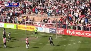 Exeter City vs Torquay United - League Two 2013/2014
