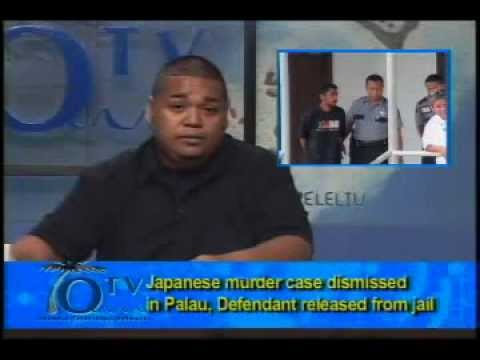 Japanese Murder Case Dismissed In Palau, Defendant Released From Jail - VIDEO