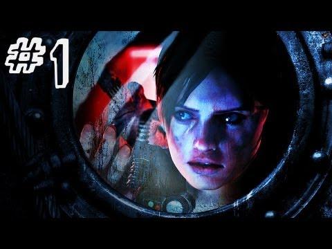 Resident Evil Revelations Gameplay Walkthrough Part 1 - Jill Valentine - Campaign Episode 1