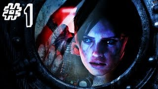 Resident Evil Revelations Gameplay Walkthrough Part 1 - Jill Valentine - Campaign Episode 1