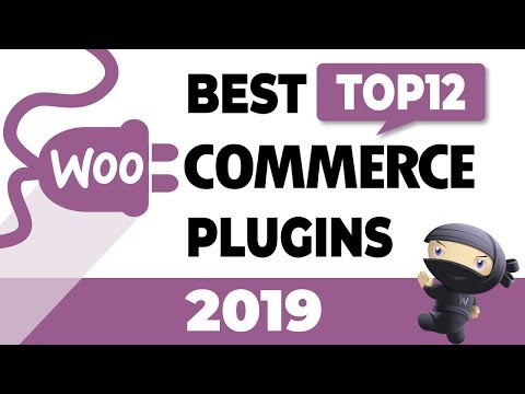 Top 12 Best WooCommerce Plugins For WordPress 2019 - Must Have WooCommerce Plugins!