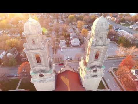 Drone Photography St Cecilia Cathedral