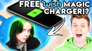 Can You Guess The Price Of These FREE WISH PRODUCTS!? (GAME)