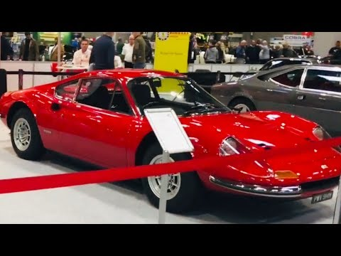 CLASSIC CAR SHOW  AT NEC BIRMINGHAM UK  !!