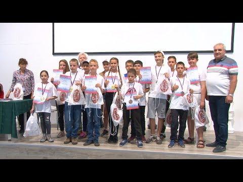 Церемония награждения на  «Всероссийском шахматном фестивале»