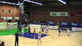 Lemvig Basket Dame vs. BK Amager Mellemspil 05.02.2015