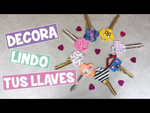 DIY: COMO DECORAR MIS LLAVES? Lorena G ♥
