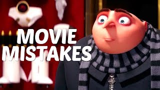 10 Biggest MISTAKES in the MOVIE Despicable Me 3 (2017) | Despicable Me 3 Goofs and Fails