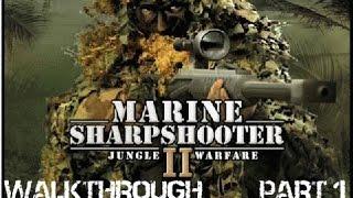 Marine Sharpshooter 2: Jungle Warfare Walkthrough - Part 1