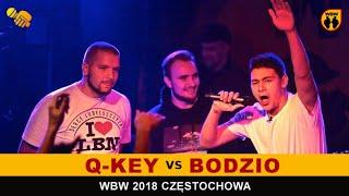 BODZIO vs Q-KEY  WBW 2018  Częstochowa (1/8) Freestyle Battle