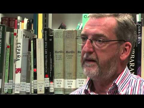Bill Richardson, a propósito de Jorge Luis Borges, en el Instituto Cervantes de Dublín