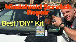 Windshield Scratch Repair: BEST DIY scratch repair kit