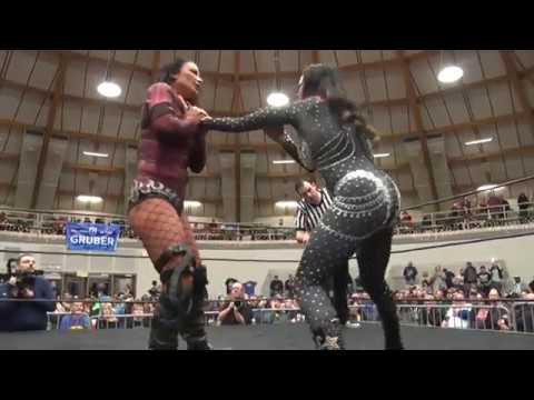 House of Hardcore 36: Lisa Marie Varon VictoriaTara vs  Candice Michelle Candice's Last Match