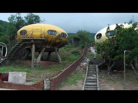 Inside Taiwan's UFO houses 万里弃弃