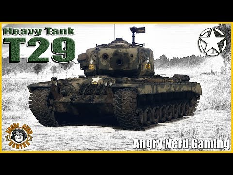 War Thunder: Heavy Tank T29, American, Premium Tier-4, Heavy Tank