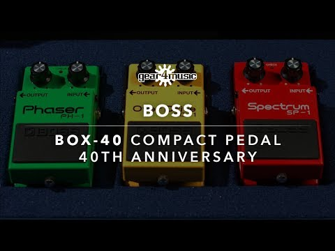 BOSS Box-40 40th Anniversary Box Set | Gear4music Demo