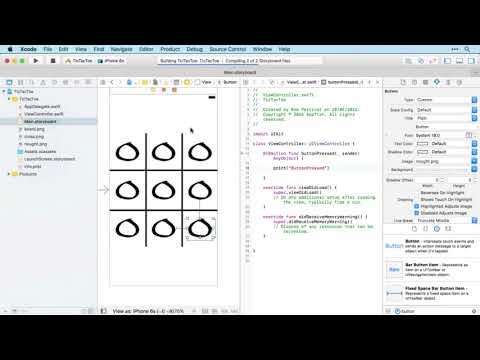 ios 11 Developer Course Tutorial -  Game Tic Tac Toe Part 33