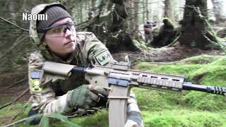 Airsoft Gameplay Scoutthedoggie at Section8 Scotland 2018