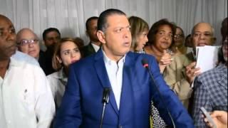 Lic. Luis Ernesto Camilo Renuncia del PRM