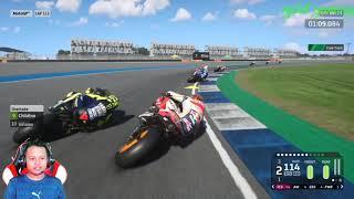 MOTO GP 2020 ROSSI DAN MARQUEZ KALAH - Game Moto GP 2020 PS4