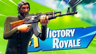 The New HEAVY AR Gameplay in Fortnite.. (AK-47)