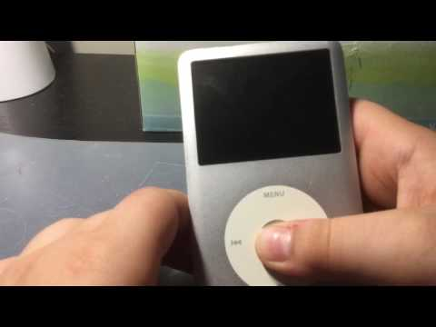iPod Classic 6G 120gb found In Target MP3, Ink, And Phone Bin. Non-working?