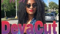 My First DEVACUT At Curls Rock Salon!