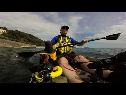 Kayaking at Meadfoot