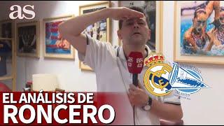 REAL MADRID 2 - ALAVÉS 0 | Roncero ya huele la 34º Liga para el Madrid | Diario As |