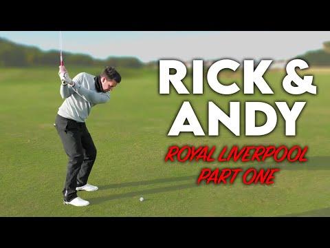THE TIGER SHOT! Me vs Rick Shiels vs Andy Carter - Royal Liverpool Part One