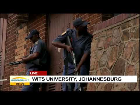 Latest situation at Wits University
