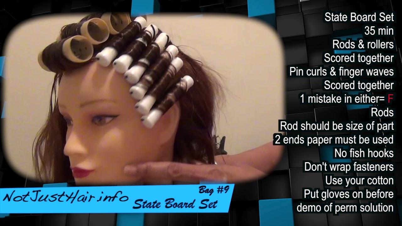 NJ State Board Cosmetology Exam Help: State Board Set Bag #9