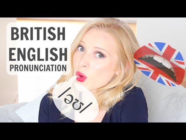 BRITISH ENGLISH PRONUNCIATION - /əʊ/ vowel sound (oh, no, go)