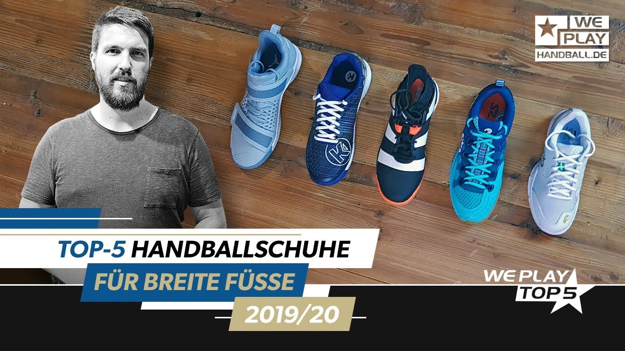 Top 5 Handball shoes for wide feet