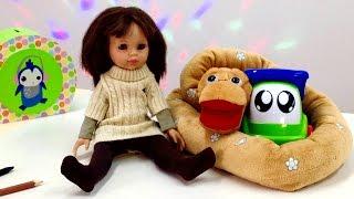 Видео для детей. Английский язык с Мэри! Животные на английском - змея. Учим животных, учим цвета
