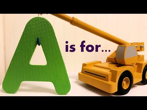 The Letter A - Learning the Alphabet ABCs