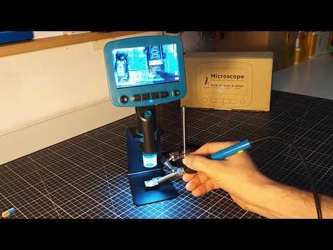 Dijital Mikroskop DM 01 inceleme su