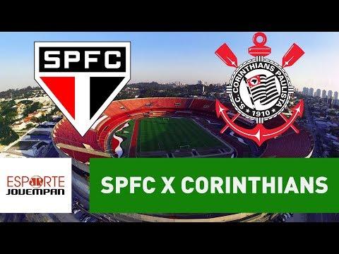 Transmissão AO VIVO - São Paulo x Corinthians