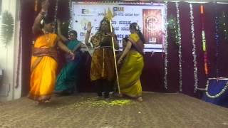 Shivanu bhikshake banda dance by Meenakshi Arakeri and group at LIC