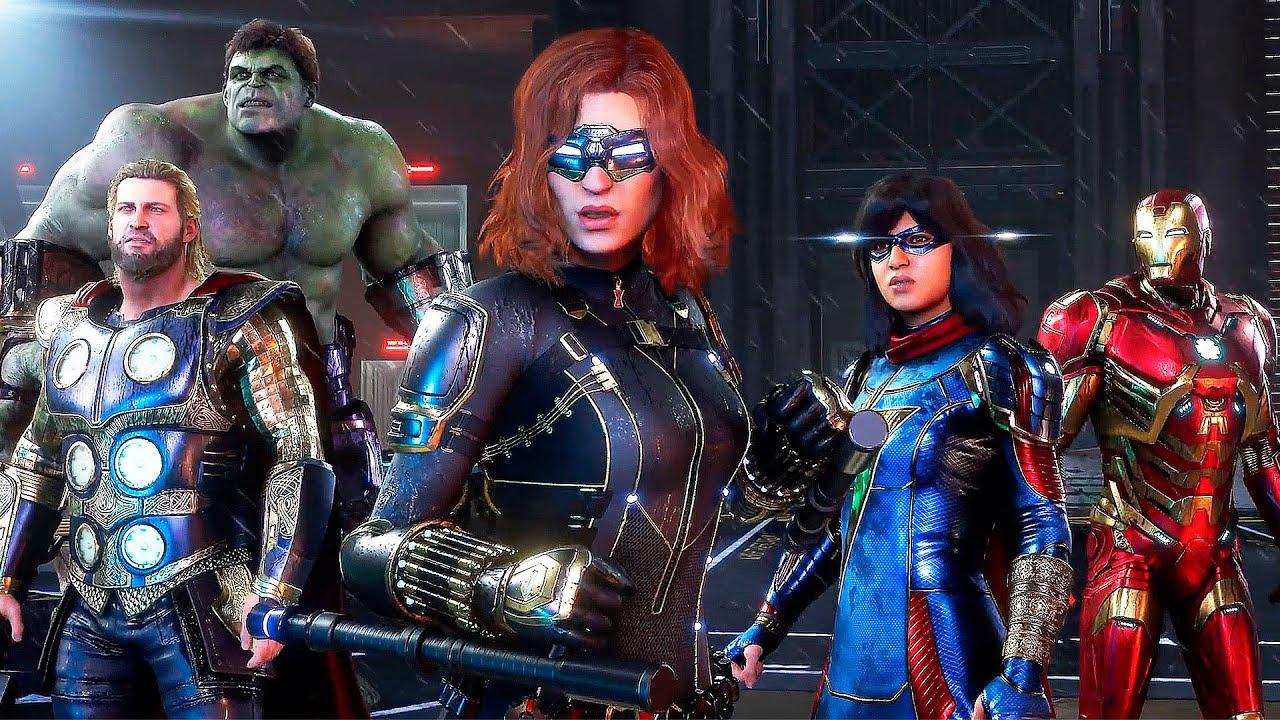 Мстители Marvel  (2020)