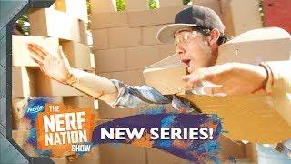 Giant Cardboard Castle (Fixer Upper Parody w/ Zach King) | The NERF Nation Show Episode 9