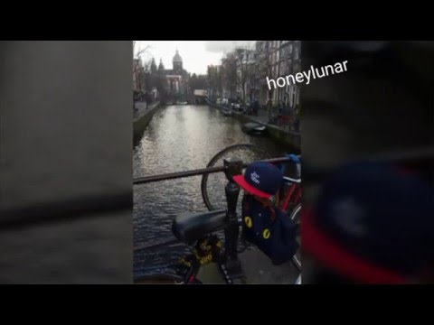Travel in amsterdam & bruges with joowon ;)