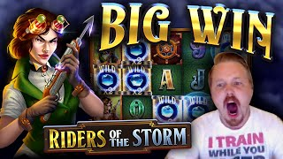 Big Win In Riders Of The Storm