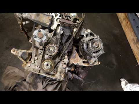 How to replace water pump Toyota Corolla years 1990 to 2002